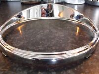 Genuine Original Jaguar MK10 Headlamp Chrome Bezel Rim - Part No. 5452114