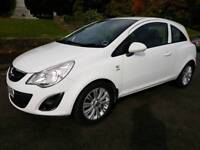 Immaculate White Vauxhall Corsa 1.0 Ecoflex Active with 1/2 leather & Bluetooth