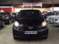 Toyota Aygo 2010 black 5 door