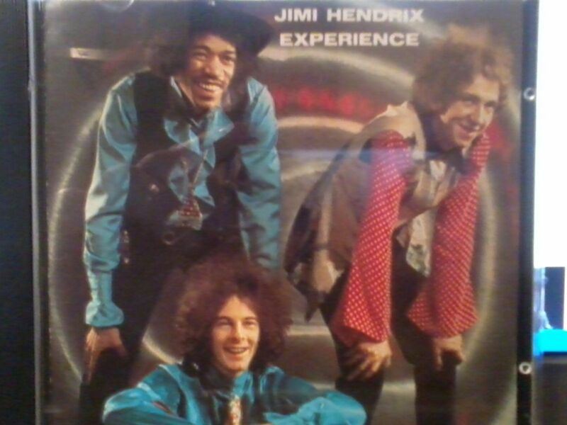 Jimi Hendrix Experience - LIVE IN PARIS,cd