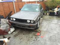 bmw 316 2 door coupe E30 F REG CLASSICS CAR NOW SPARES OR REPAIRS PARTS