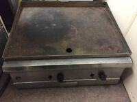 PARRY LARGE NATURAL GAS GRIDDLE HOT PLATE COOKER
