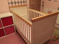 Mothercare Humphreys Corner Cot Bed 1 left
