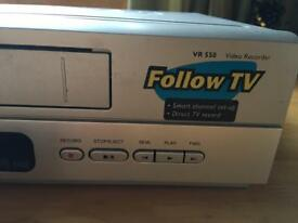 Philips video recorder vhs, direct from REDUCED tv