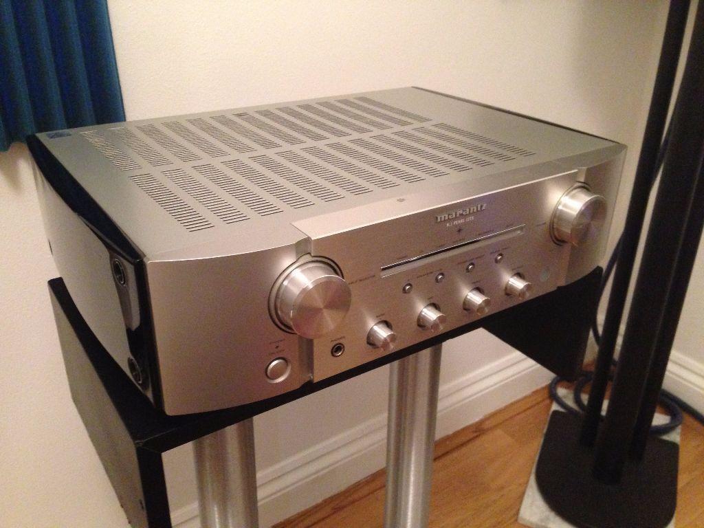 marantz pm ki pearl lite amplifier amp silver limited edition boxed 15s2 pm8004 signature in. Black Bedroom Furniture Sets. Home Design Ideas