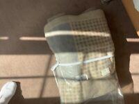 Cosy fleece blanket/throw