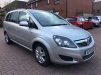Vauxhall Zafira 1.7 Diesel, 7 Seater With Full Service History