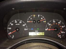 Fiat Punto 2001 black