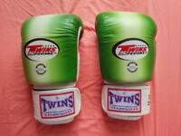 (Brand New) Twins Special Boxing/Muay Thai Gloves, 18 oz (from Thailand)