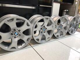 BMW TIGER CLAW STYLE 63 ALLOY WHEELS STAGGERED 9J & 10J