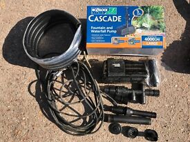 Hozelock casacade pond pump -4000 lph