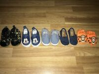 Bundle of baby shoes Toms, Batman, Mickey and tigger Bargain £4