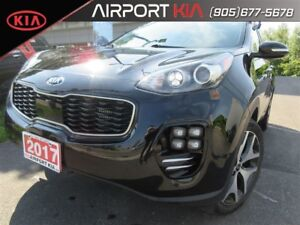 2017 Kia Sportage SX Turbo / Navigation/ Panoramic Sunroof/ Leat