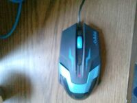 1600 DPI Optical Wired Gaming Mouse for PC Laptop Computer Games