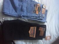 Brand new denim jeans