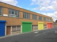 Secure unit lock up workshop to let rent in Halifax 1800 square foot