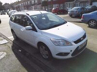 Ford Focus 2008 1.6 tdci Mot till september 2owners 30pound road tax.
