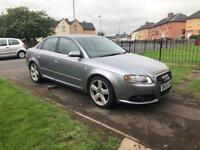 Audi A4 2.0 TDI 140 bhp S line 18 inch alloys ,spare or repair