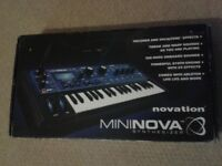 Novation Mininova Synthesizer For Sale