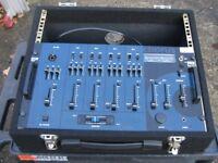 DJ Mixer & Flight Case IMG Stageline MPX 600 excellent condition