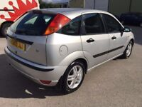 2003 FORD FOCUS 1.6 ZETEC 5 DR HATCHBACK LOW MILEAGE IMMACULATE