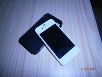 Apple iphone 4S (8gb) white.