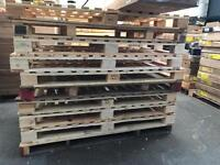 Free Irregular size pallets. Strong dry.