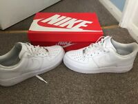 Nike Air Force 1 White Size 8.5