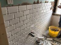 Tiling Works- Bathrooms,Hallways,Kitcens.