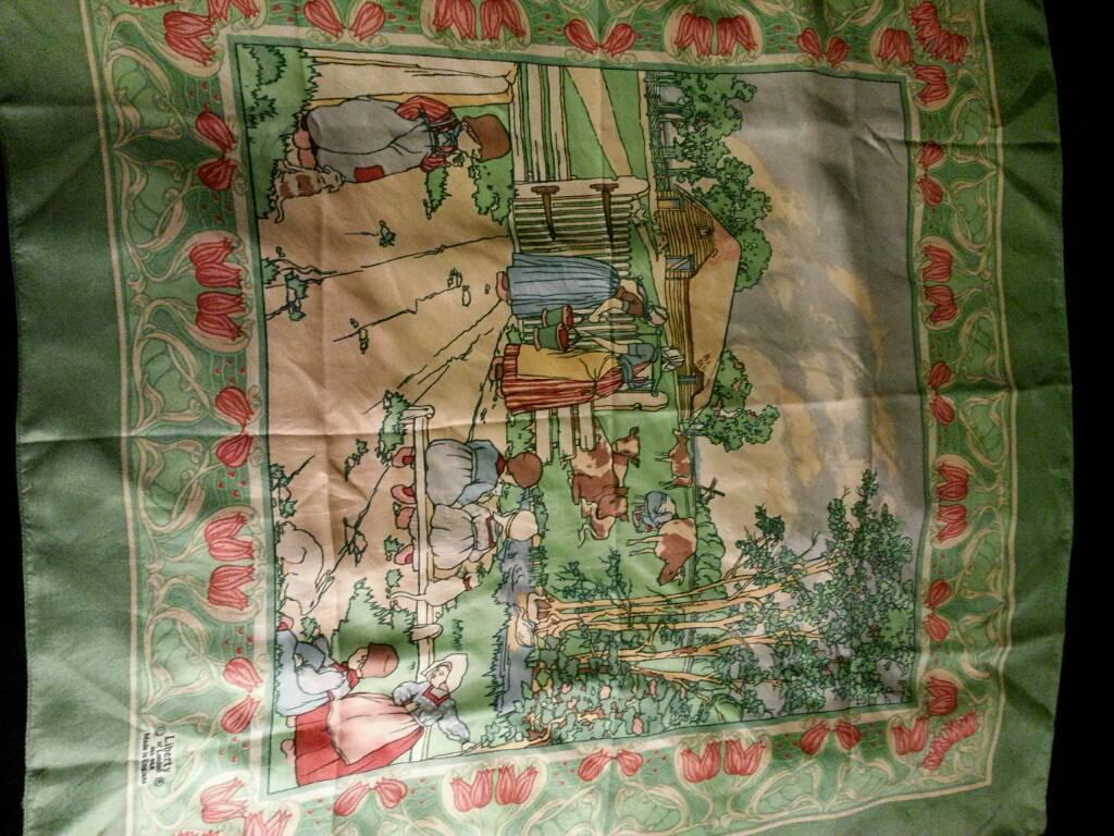 Vintage Liberty silk scarf