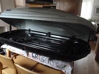 Thule silver Atlantis 200 Roof Box in excellent condition!
