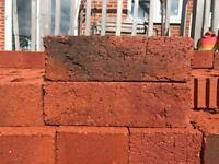 Red bricks ( Approx x3 Packs)