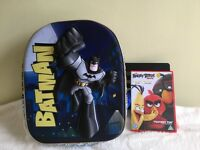 *Brand New with Tag* Batman school bag backpack with DC Comics official license