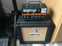 Orange Micro Dark Amp Head and cab