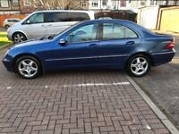 2003 Mercedes-Benz C Class 2.1 C220 CDI Avantgarde 4Door @07445775115 Automatic+Diesel+Leather+2Keys