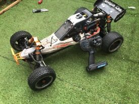 Hpi Baja 5b ss rc car 2 Stoke need it sold ASAP offers?