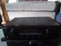 sony amplifier TA.FE370 70WPC good working order great sound full size with remote