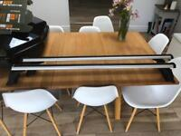 Exodus A120 roof bars and foot packx2