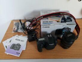 Canon EOS 60D Digital SLR Camera, Black, with EF-S 17-85 mm f/4-5.6 IS USM Lens Kit CAN DELIVER