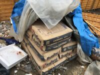 Free cement approx 37 bags