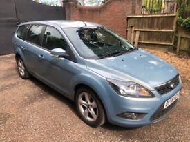 image for 2009 FORD FOCUS 1.8 TDCI ZETEC 5DR ESTATE BLUE IMMACULATE