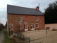 Secluded country house brittany france