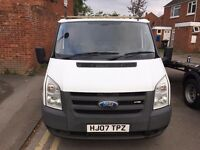 2007 (07) FORD TRANSIT 85 T260S FWD 5 SPD XENONS VERY GOOD DRIVE ROOF RACK LONG MOT DRIVES GREAT