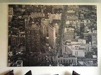 Ikea New York canvas large