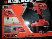Brand new Black and Decker 18v cordless