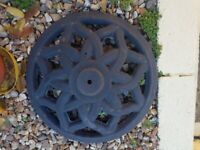 Cast Iron Solid Garden Stand Base