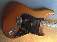 Fender FSR Standard Satin Stratocaster, Arizona Sun (Limited/Special Edition)