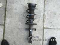 2012 renault clio 1.2 front suspension strut and spring