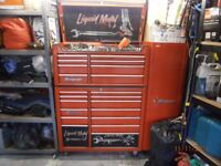Snap On, Roll Cab, Top box and Side Cab with all Contents