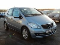 2009 mercedes A-Class 1.5 petrol, with only 40000 miles, 1 owner good history, motd july 2018